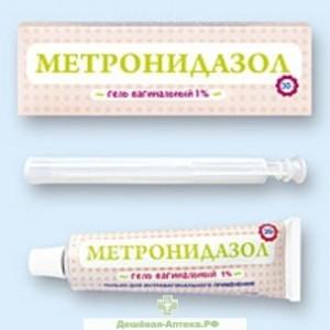 Фармакокинетика метронидазола при вагинальном использовании